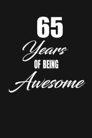 65 years of being awesome by Nabuti Publishing image
