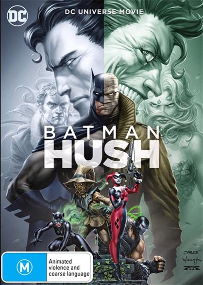 Batman - Hush on DVD image