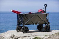 Picnic Time: Adventure Wagon All-Terrain Portable Utility Wagon (Dark Grey) image