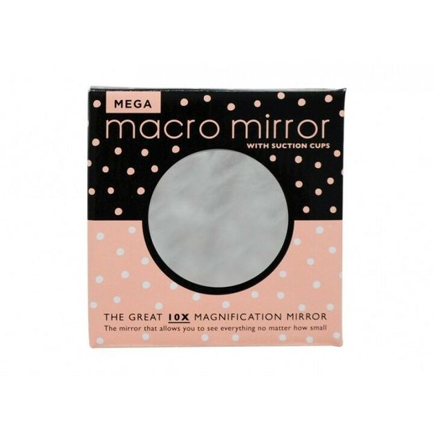 Annabel Trends: Mega Macro Mirror with Suction Cup