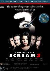 Scream 3 on DVD