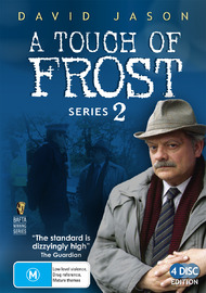 A Touch Of Frost - Series 2 (4 Disc Set) on DVD image
