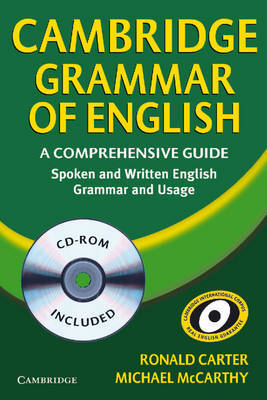 Cambridge Grammar of English Paperback with CD ROM: A Comprehensive Guide by Michael McCarthy image