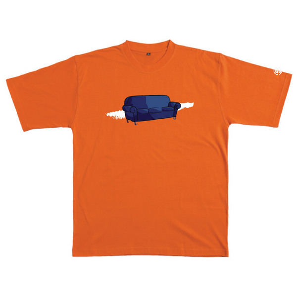 Couch - Tshirt (Orange) for