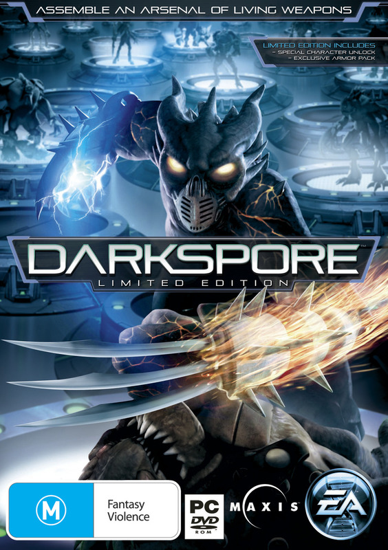 Darkspore Limited Edition for PC Games