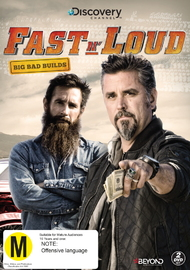 Fast N' Loud: Big Bad Builds on DVD