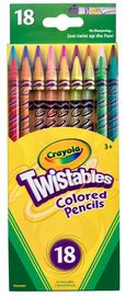 Crayola: Twistables Coloured Pencils - 18 Pack