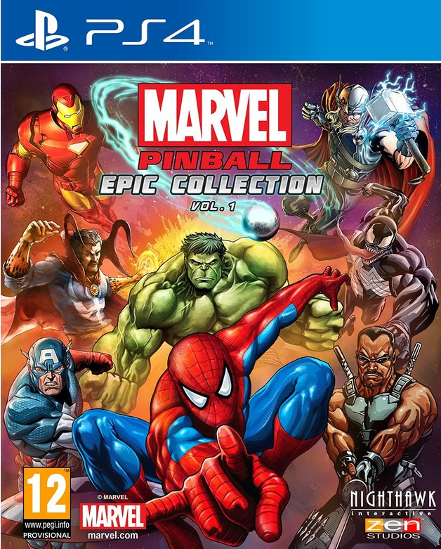Marvel Pinball Epic Collection Volume 1 for PS4