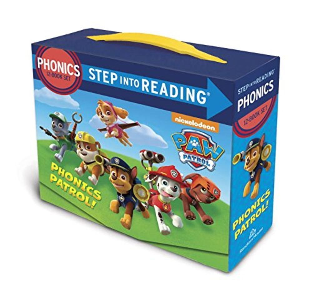Paw Patrol Phonics Box Set by Jennifer Liberts image