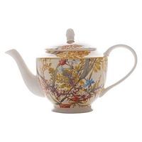 Maxwell & Williams: William Kilburn Teapot Cottage Blossom (500ml) - Gift Boxed