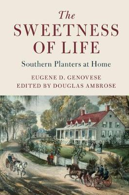 Cambridge Studies on the American South by Eugene D. Genovese