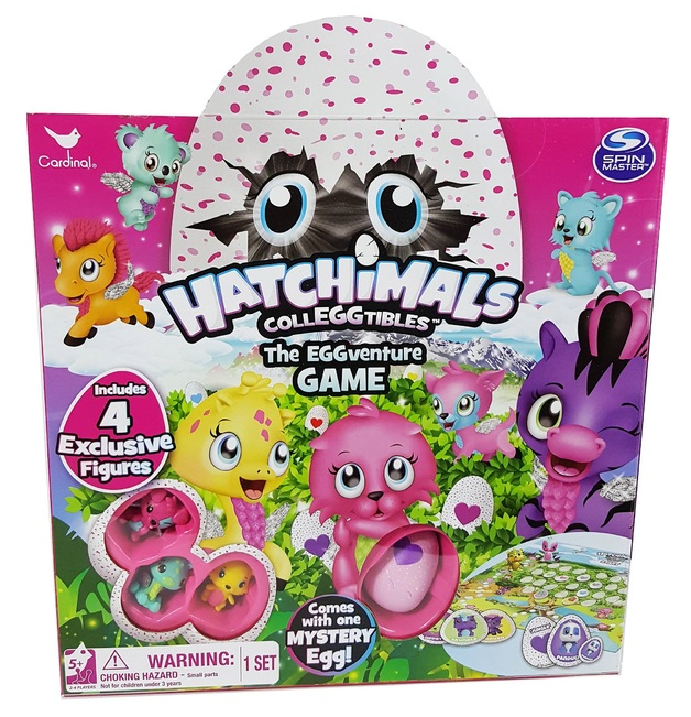 Hatchimals: EGGventure - Board Game