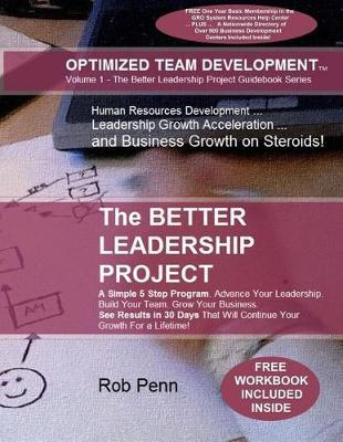 The Better Leadership Project by Rob Penn image