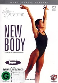 Aussie Fit - New Body (Plus Dance Aerobics) on DVD image