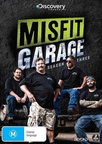 Misfit Garage - Season Three on DVD image