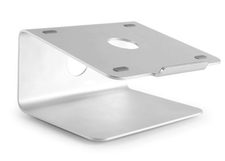 Brateck Deluxe Aluminum Laptop Stand - Silver image