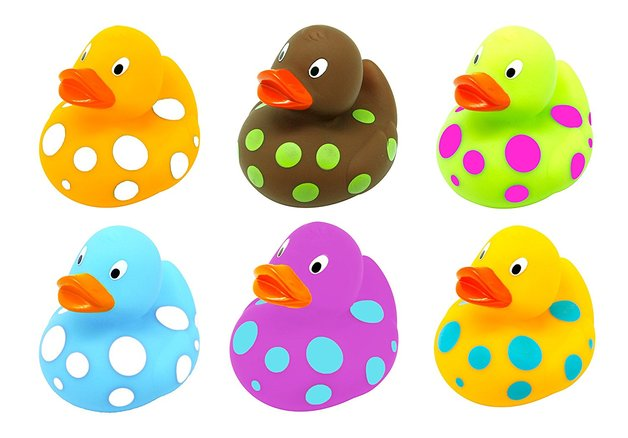 Escabbo: Pop Ducky Squirters - (Set of 6)