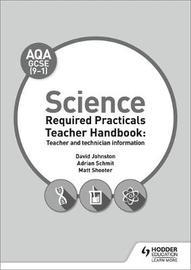 AQA GCSE Science Lab Teacher Book by David Johnston image