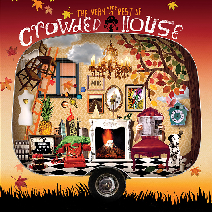 The Very Very Best Of Crowded House by Crowded House image
