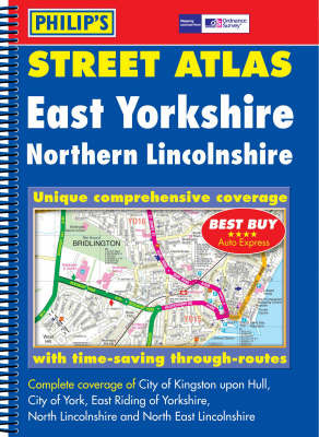 Street Atlas East Yorkshire by Street Atlas Philip's image