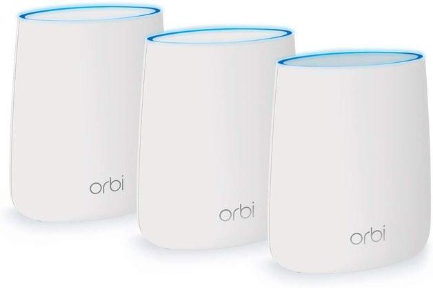 NETGEAR Orbi Whole Home AC2200 Tri-band Mesh WiFi System (3 Pack)