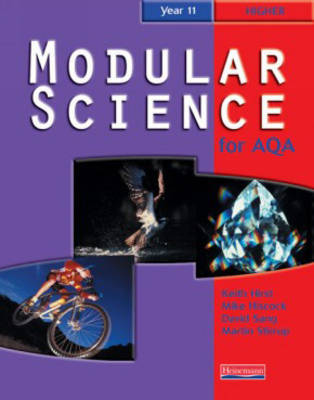 AQA Modular Science: Year 11: Higher Student Book by Keith Hirst image