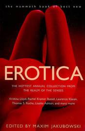 The Mammoth Book of Best New Erotica 9 by Maxim Jakubowski image