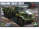 Takom 1/35 Ukraine Kraz-6322 (Late Type) Model Kit