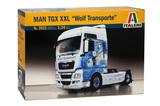 Italeri: 1/24 Man TGX XXL Wolf Transport - Model Kit