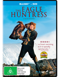 The Eagle Huntress on DVD, Blu-ray