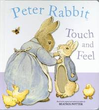 Peter Rabbit Touch and Feel Book by Beatrix Potter image