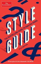 The Economist Style Guide by Ann Wroe