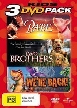 Babe / Two Brothers / We're Back! A Dinosaur's Story - Kids 3 DVD Pack (3 Disc Set) on DVD