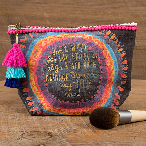 Natural Life: Canvas Pouch - Stars Align