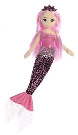 Sea Sparkles: Jungle Mermaid - Pink Giraffe (45cm)