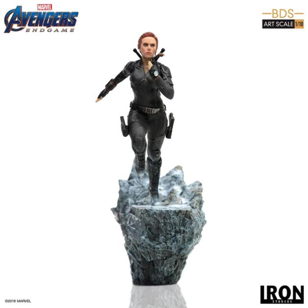Avengers: Endgame - 1/10 Black Widow - Battle Diorama Statue
