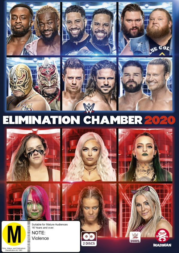 WWE: Elimination Chamber 2020 on DVD image
