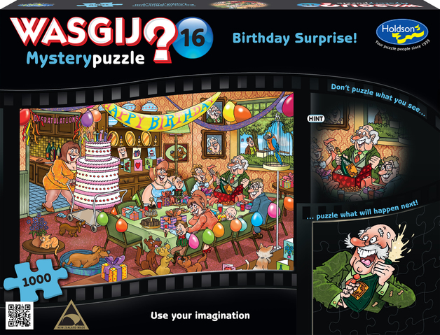 Wasgij: 1000 Piece Puzzle - Mystery #16 (Birthday Surprise)