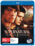 Supernatural - The Complete Third Season on Blu-ray