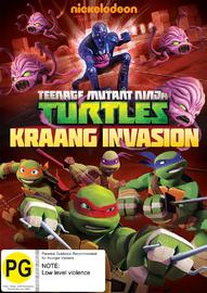 Teenage Mutant Ninja Turtles: Kraang Invasion on DVD
