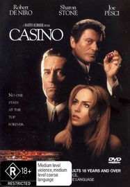 Casino on DVD image