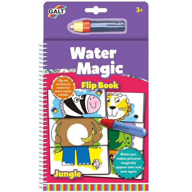 Galt Water Magic Jungle Flip Book Toy At Mighty Ape Nz