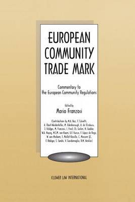 European Community Trade Mark by Mario Franzosi