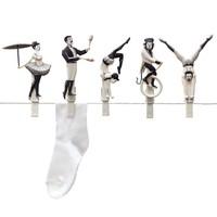 Monkey Business: Pegzini Family Laundry Pegs image