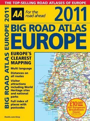 AA Big Road Atlas Europe: 2011