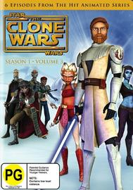 Star Wars: The Clone Wars: Season 1 - Volume 3 on DVD