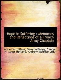 Hope in Suffering by Abbe Felix Klein