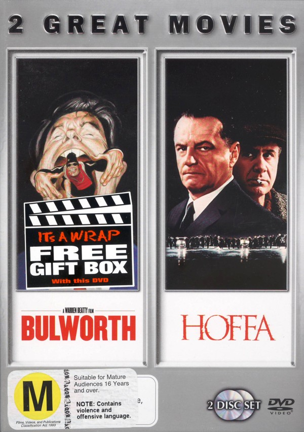 Bulworth / Hoffa on DVD image