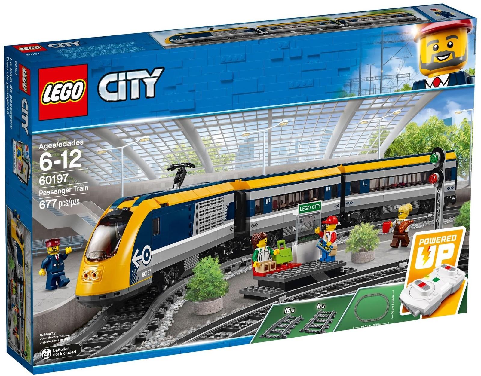 LEGO City - Passenger Train (60197) image