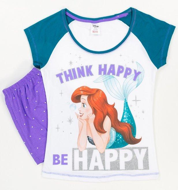 Disney: Little Mermaid Summer (Think Happy) - Women's Pyjamas (12-14) image